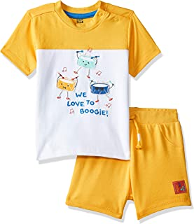 MINI KLUB Baby Boys' Regular Fit Clothing Set (Pack of 2)
