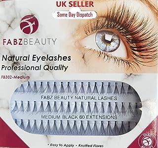 Individual False Eyelashes Flare Cluster Lash Extensions