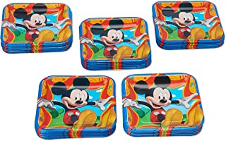 American Greetings Mickey Mouse Party Supplies, Disposable Paper Dinner Plates, 40-Count