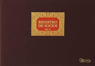 Miquel Rius 8422593050132 - Libro socios folio apaisado