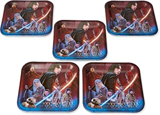 American Greetings Star Wars: The Last Jedi Party Supplies, Disposable Paper Dinner Plates, 40-Count