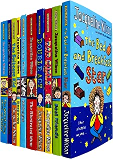 Jacqueline Wilson 10 Books Collection Set (Bed and Breakfast Star, BestFriends, Bad Girls, Double Act, Illustrated Mum, Mi...