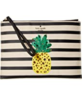 Kate Spade New York - By The Pool Pineapple Medium Bella Pouch