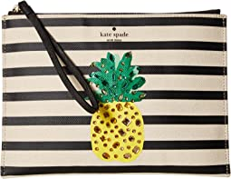 By The Pool Pineapple Medium Bella Pouch