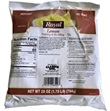 Royal Instant No Bake Pudding and Pie Filling (Lemon, 1.75 pound)