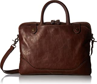 FRYE Men's Logan Slim Zip Briefcase