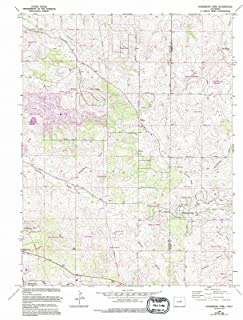 Colorado Maps - 1966 Ponderosa Park, CO USGS Historical Topographic Map - Cartography Wall Art - 44in x 55in