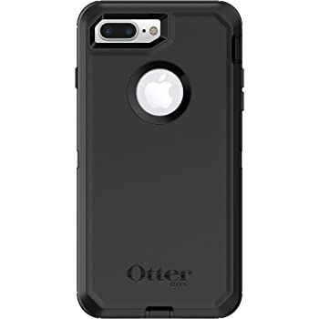 OtterBox DEFENDER SERIES Case for iPhone 8 PLUS & iPhone 7 PLUS (ONLY) - Frustration Free Packaging - BLACK