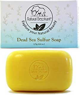 Natural Elephant Dead Sea Sulfur Soap 4.4 oz (125 g)