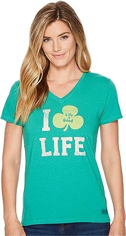 Life is Good - Clover Life Crusher Vee
