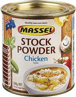 Massel Chicken Stock Powder, Gluten Free, Cholesterol Free, No Added MSG, 168g