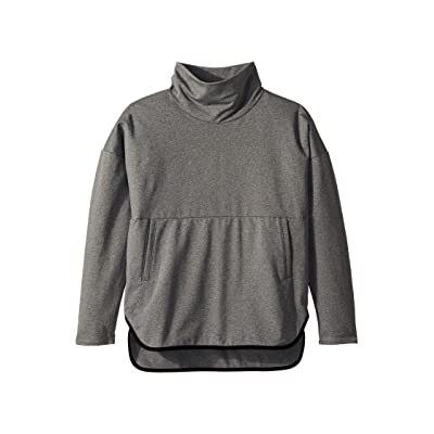 The North Face Kids Pamilia Poncho (Little Kids/Big Kids) (TNF Medium Grey Heather) Girl