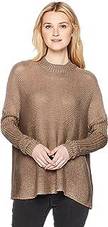 Lira Womens JC3001 Becca Mock Neck Sweater Pullover Sweater
