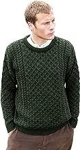 Aran Crafts Merino Crew Neck Sweater (100% Merino Wool)