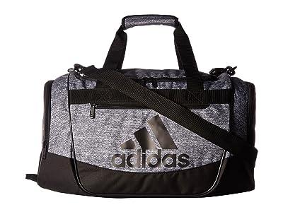 adidas Defender III Small Duffel (Onix Jersey/Black) Duffel Bags