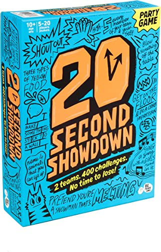 high quality Twenty wholesale Second Showdown: A Crazy Quick-Fire Family Game for Kids outlet online sale and Adults sale