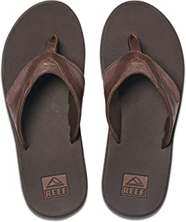 Men's Sandals Leather Fanning | Bottle Opener Flip Flops for Men