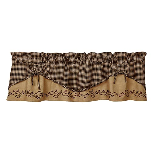Country Curtain Valances Amazoncom