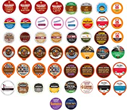 Crazy Cups Coffee Variety Pack, Single Serve Pods for Keurig K-Cup, 50 Count - Assorted Flavors like Espresso, Dark Roast, Breakfast Blend