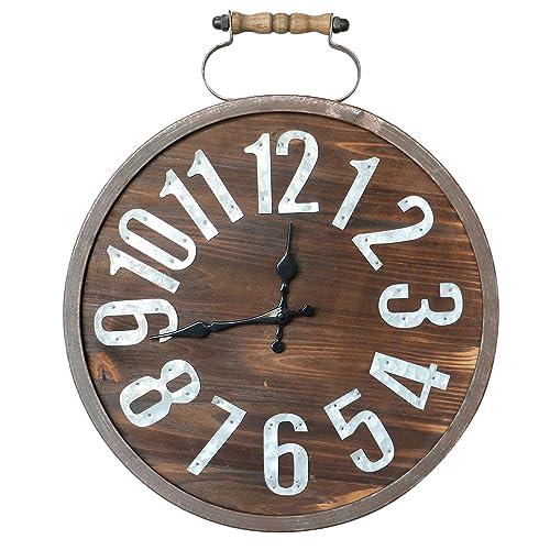 Distressed Kitchen Wall Clocks: Amazon.com