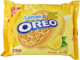 Lemon Flavor Creme Filled Oreos 2014 Edition