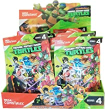 TMNT Teenage Mutant Ninja Turtles Series 4 Complete Case of 24 Blind Bag Action Figures Donatello Leonardo Raphael Michaelangelo Baxter Stockman Tiger Claw Karai Red Foot Soldier