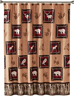 SKL Home by Saturday Knight Ltd. Sundance Shower Curtain,...