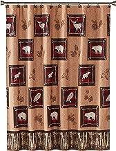 SKL Home by Saturday Knight Ltd. Sundance Shower Curtain, Brown