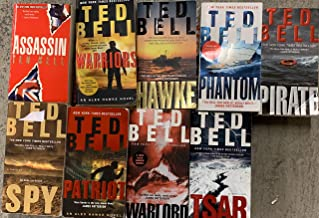 TED BELL Alexander Hawke series 1-7 Complete set: Hawke, Assassin, Pirate, Spy, Tsar, Warlord, Phantom
