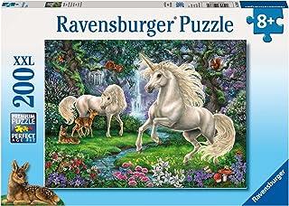Ravensburger Mystical Unicorns Puzzle 200pc,Children's Puzzles