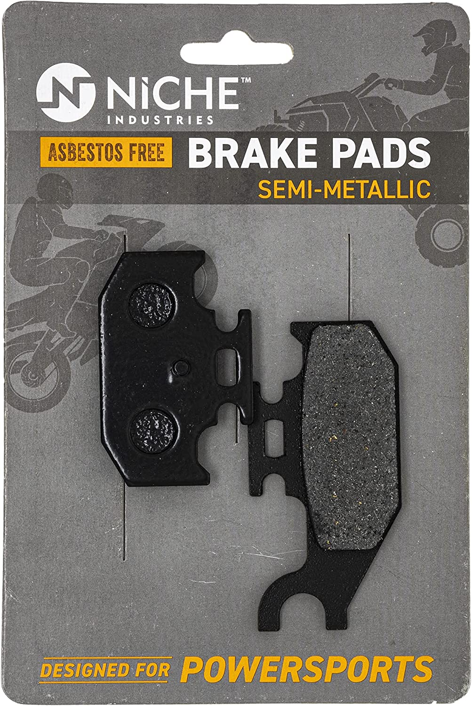 NICHE Rear Brake Pad Set Our shop most popular 1S3-W0046-01-00 5UG-W0046-01 Yamaha supreme for