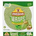Mission, 10 Inch Wraps Garden Spinach Herb, 6 ct, 15 oz