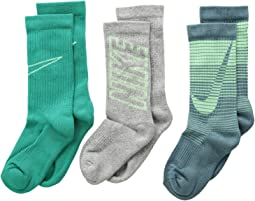 Performance Cushion 3-Pair Socks (Little Kid/Big Kid)