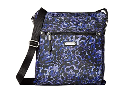 Baggallini New Classic Go Bagg with RFID Phone Wristlet (Abstract Bloom) Bags