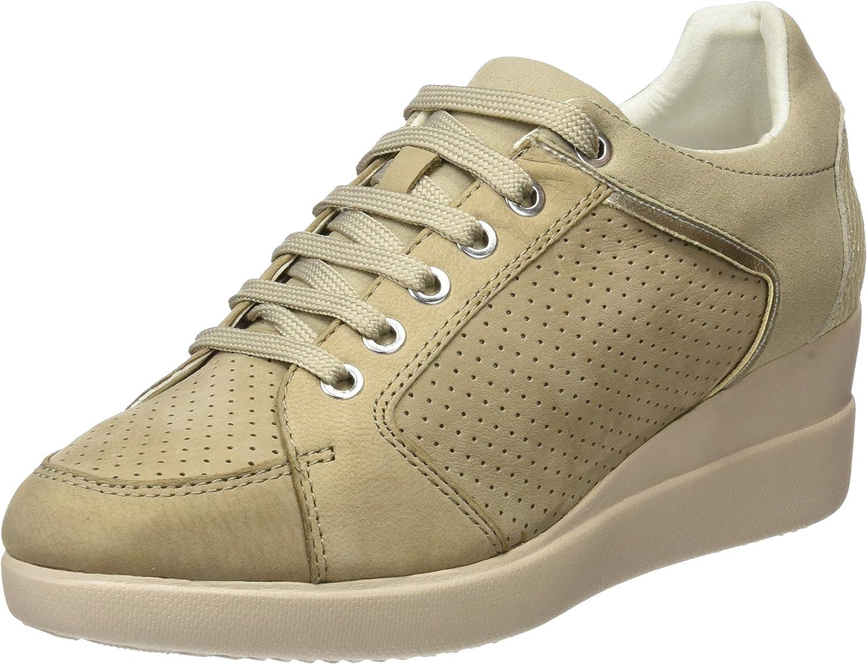Geox Women's D Stardust B Low-Top Sneakers