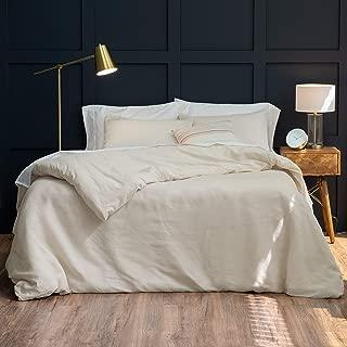 Welhome Premium Relaxed Linen Cotton Duvet Set - King Size - 108