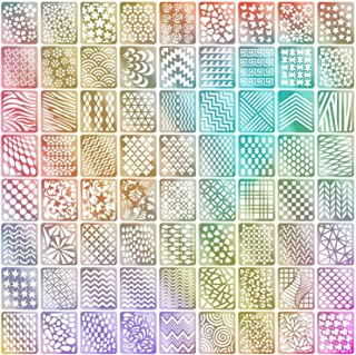 72 Designs Nail Vinyls Nail Stencil Sticker Sheets Set for Nail Art Design, 24 Sheets, 144 Pieces