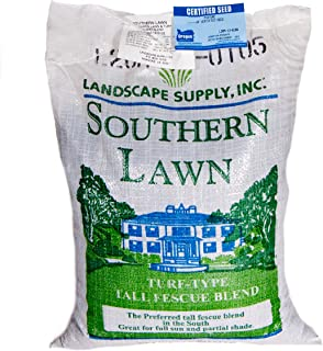 southernLAWN Three-Way Blend Premium Blue Tag Certified Turf Type Tall Fescue, 10 Pound Bag