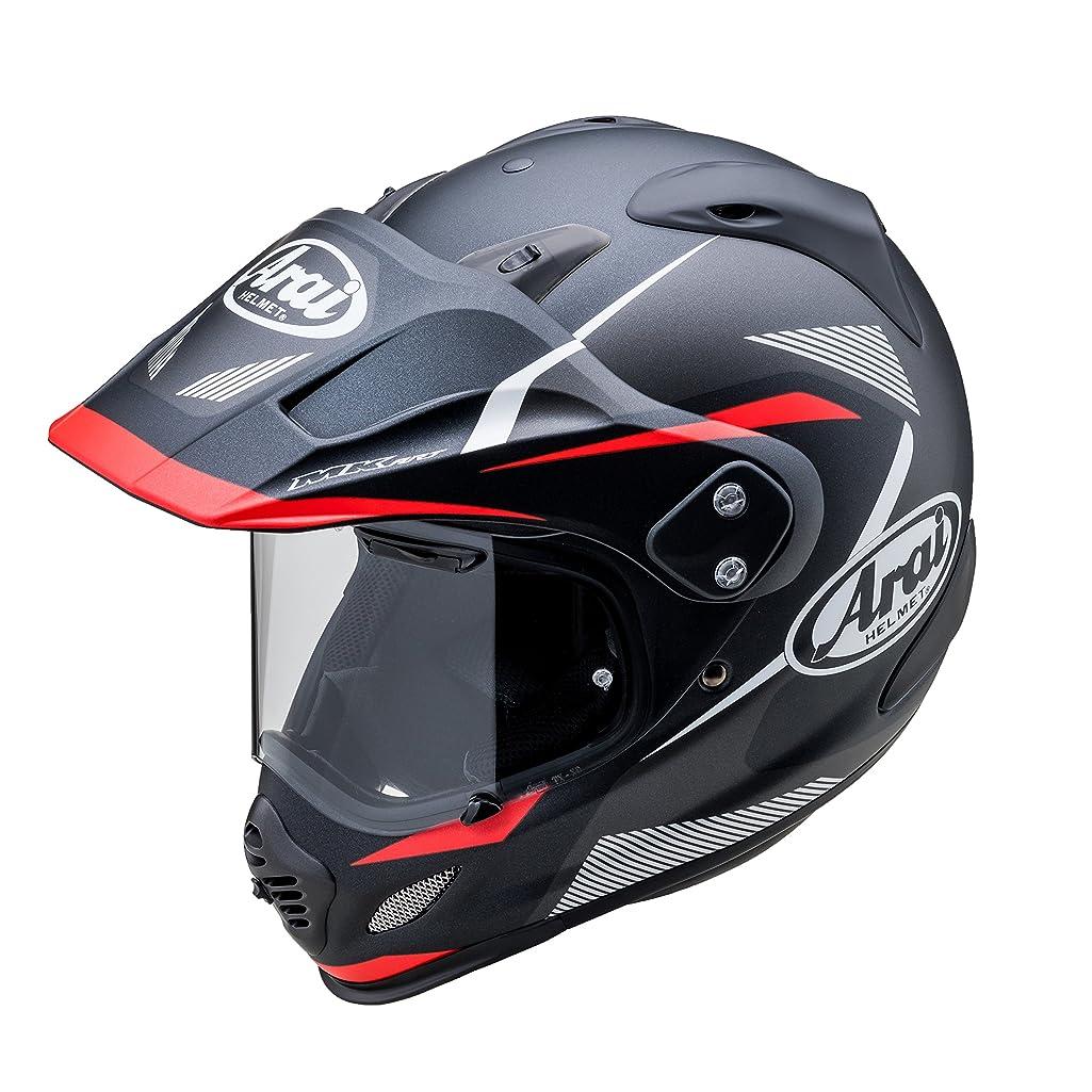 受益者起こりやすい国勢調査アライ(ARAI) バイクヘルメット オフロード TOUR CROSS 3 (ツアークロス 3) BREAK (ブレイク) レッド Lサイズ 59cm-60cm -
