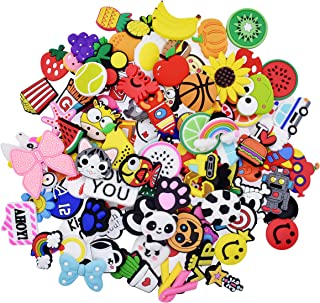 40,60,100,110,150pcs Shoes Charms Fits for Croc Clog...