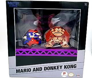 Donkey Kong Mario 8 Bit Figurines