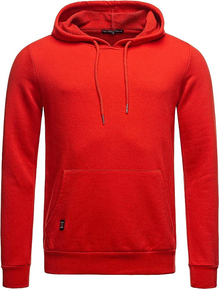 Redbridge, felpa da uomo con cappuccio in 70% cotone, 30% poliestere M2150