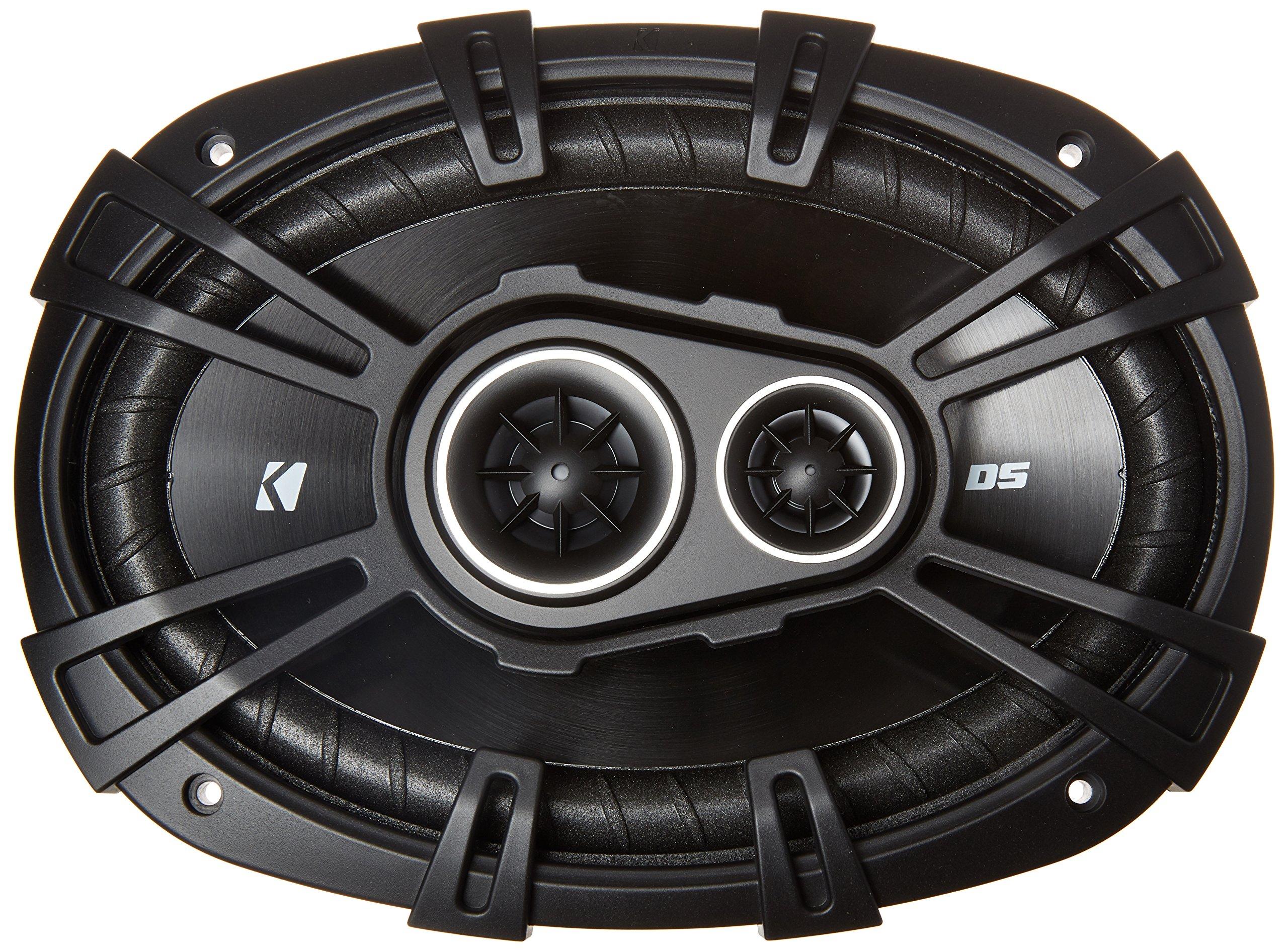 Kicker 43DSC69304 3 Way Coaxial Speakers