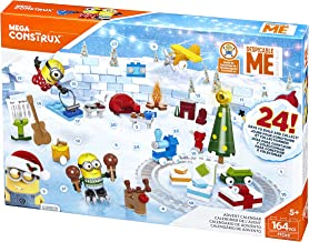 Mega Construx Despicable Me 3 Advent Calendar Building Set