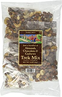 Trader Joe's Just a Handful of Simply Almonds, Cashews & Chocolate Trek Mix