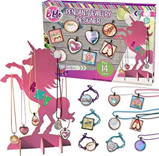 B Me Pendant Jewelry Designer - Jewelry Kit for Bracelet and Necklace Making – Jewelry Craft Gift Set for Girls - Kids' Je...