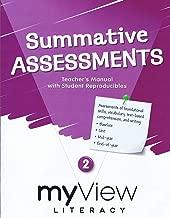 myView Literacy Summative Assessments Teacher's Manual Grade 2