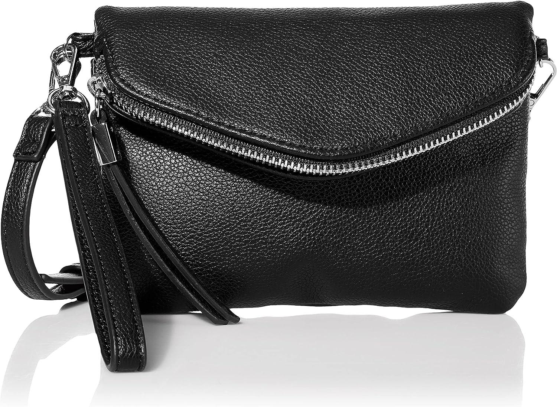 Amazon Essentials Women's Crossbody Flap-Closure Bag