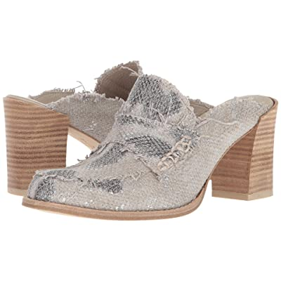 Right Bank Shoe Cotm Jade Heel (Sand/Silver) Women