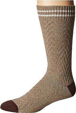 Cole Haan - Cotton Chevron Boot Sock
